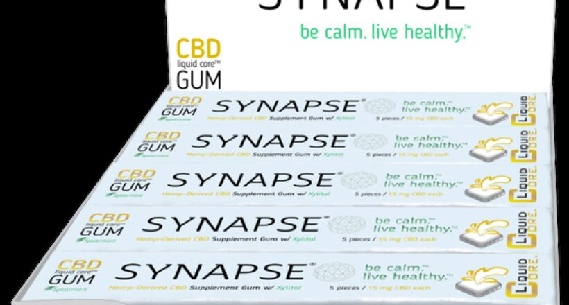 Synapse's CBD-Infused 'Functional Gum' Signs Up With Burgeoning Market