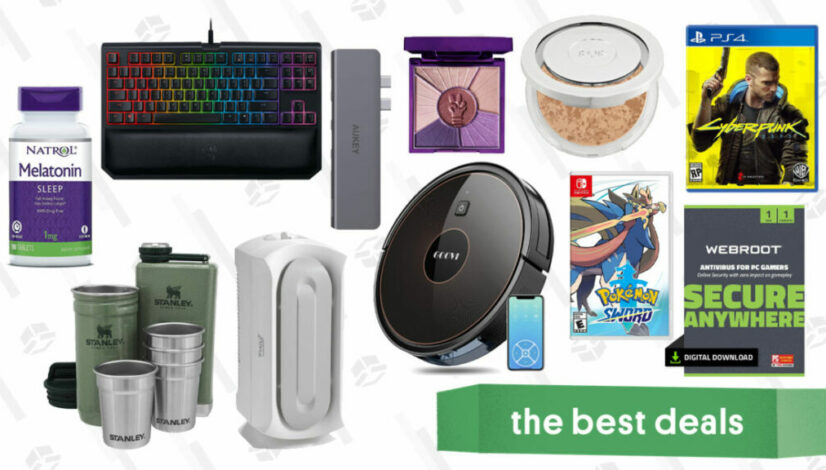 Friday's Best Deals: Aukey USB-C Hub, Cyberpunk 2077 Pre-Order Sale, Pokemon Sword, and More