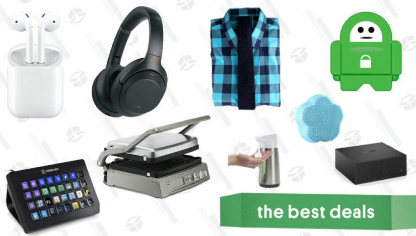 Monday's Best Deals: Private Internet Access, Apple Airpods, Sony Headphones, Amazon Fire TV Recast, Cuisinart Griddle, and More