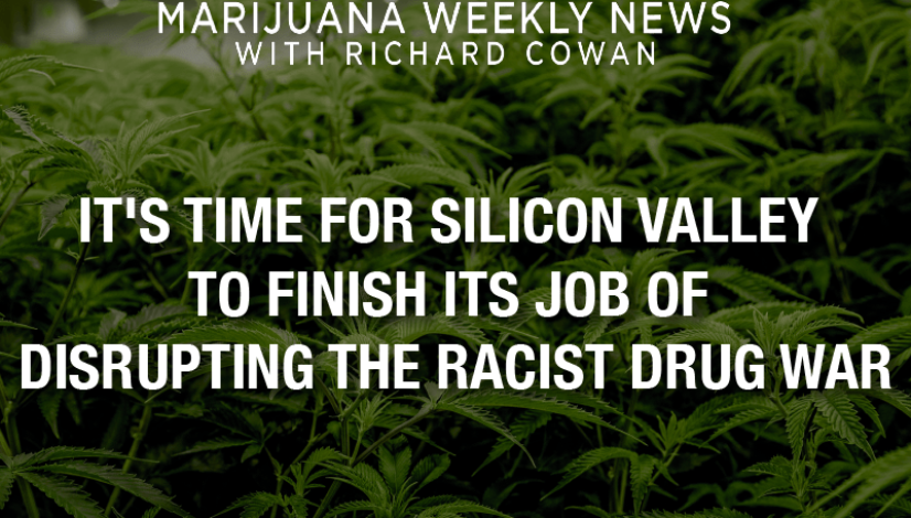 It's Time for Silicon Valley To Finish Its Task of Interrupting the Racist Drug War